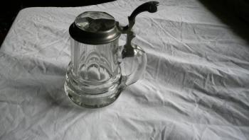 Glass Tankard - 1890