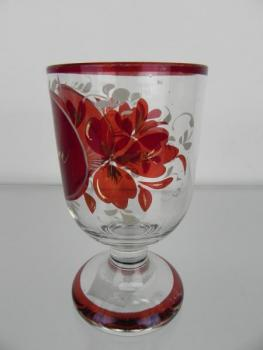 Glass Goblet - glass - 1870