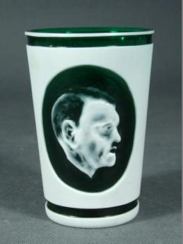 Lowball Glass - flashed glass - 1940