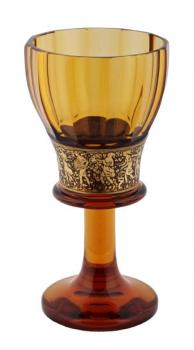 Glass Goblet - glass - Moser, Bohemia 1930 - 1930